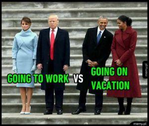 Wakacje vs praca