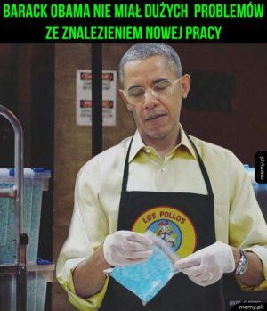 Nowa praca Baracka Obamy