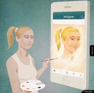 Życie vs instagram