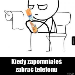 Czytanie w toalecie