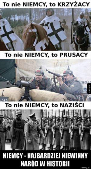 Niemcy - najbardziej niewinny naród w historii