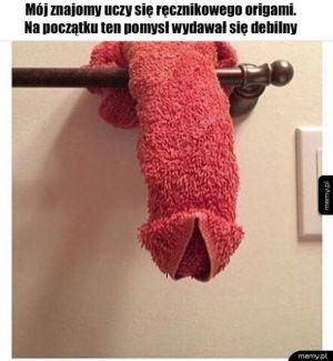 Ręcznikowe Origami