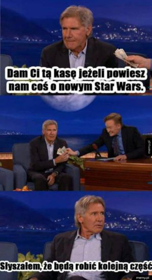 Harrison Ford trolluje