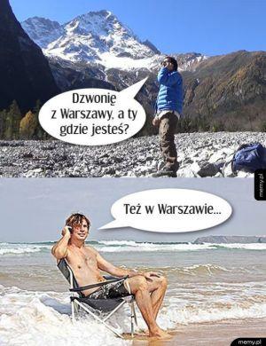 Niedługo w Warszawie