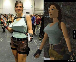 Najlepszy cosplay Lary Croft