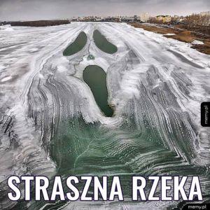 A w Rosji rzeki zamarzają tak!