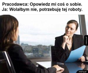 Rozmowa kwalifikacyjna