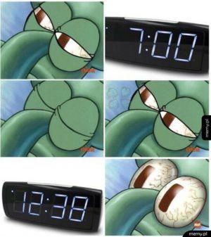 Tak wygląda każdy poranek