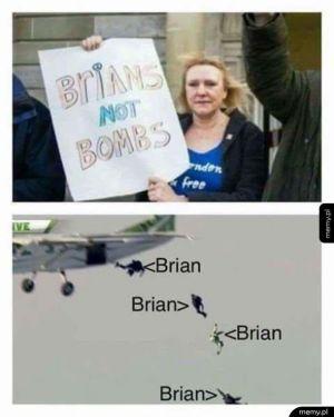 Brajanki zamiast bomb