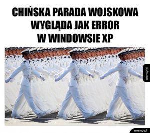 Okienko rodem z XP