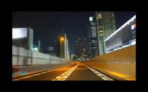 Droga w Japoni - wyglada jak gra wideo