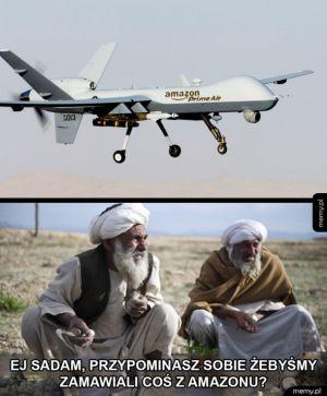 Drony w Syrii
