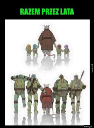Art Wojownicze Żółwie Ninja