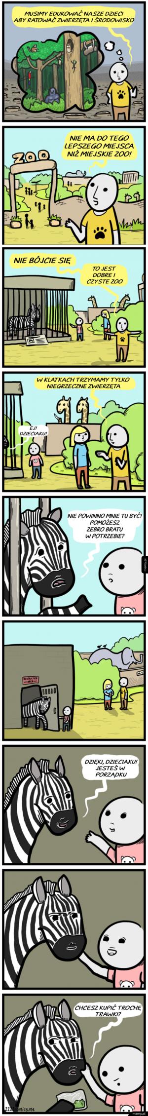 Takich rzeczy na przyrodzie nie uczą