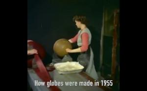 Jak kiedyś powstawały globusy