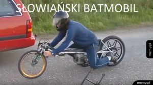 Batman jedzie
