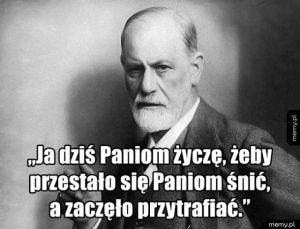 Z okazji Dnia Kobiet Sigmund Freud życzy