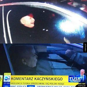 Komantarz Kaczyńskiego na wygraną Tuska