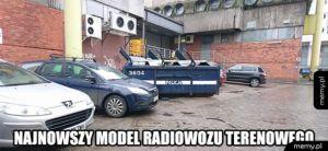 Nowy model radiowozu