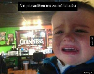 Powód płaczu