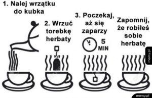 Jak zaparzyć herbatę