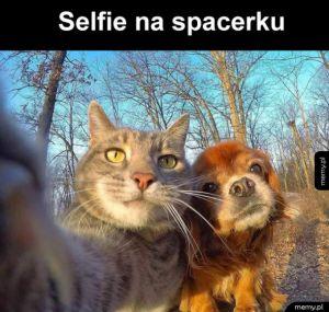 Słodkie selfie