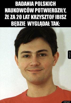 Jak będzie wyglądał Krzysztof Ibisz za 20 lat