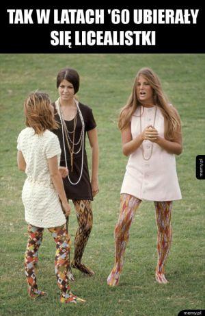 Licealistki w latach '60