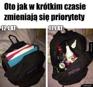 Życiowe priorytety