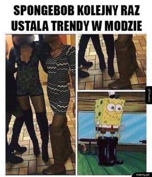 Spongebob jest trendsetterem