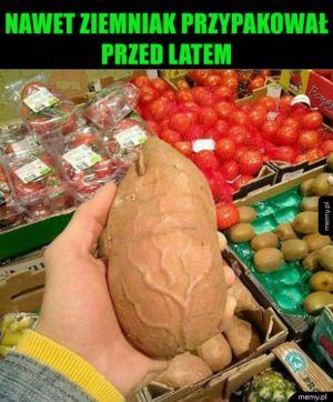 Sportowy ziemniak