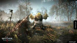 Shrek mod do Wiedźmina