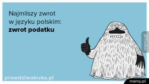 Najmilszy zwrot w języku polskim