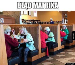 Matrix się zlagował