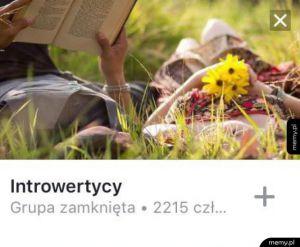 Introwertycy - grupa zamknięta