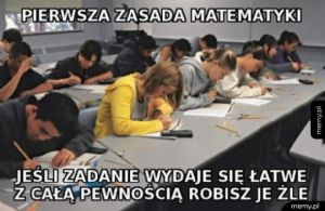 Zasada matematyki