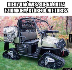 Spotkanko na golfie