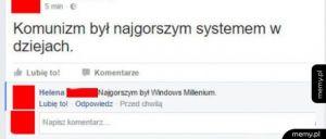 Najgorszy system
