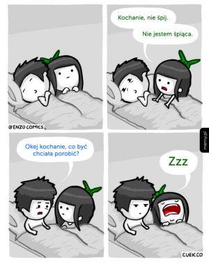 Kochanie, nie śpij