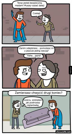 Potrzebny superbohater