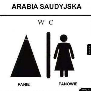 Tymczasem w aurabi saudyjskiej