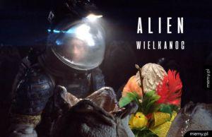Alien Wielkanoc