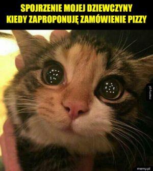 Pizza? Dla mnie?!