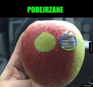 Podejrzane jabłko