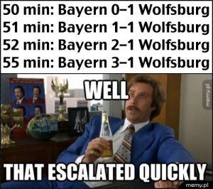Bayernie - Wolfsburg