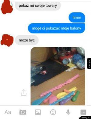 Pokaże ci balony