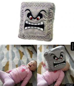Sympatyczna poduszka