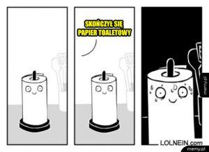 Biedny papier kuchenny