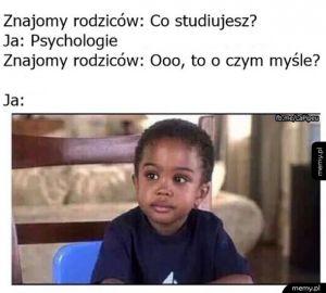 Studenci psychologii!