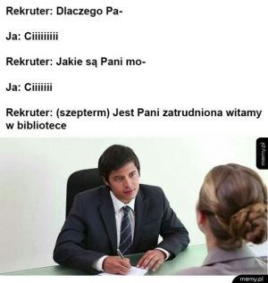 Rekrutacja - Rekrutacja do biblioteki
